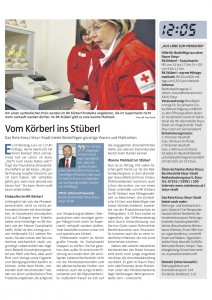 Rotes Kreuz: Vom Körberl ins Stüberl