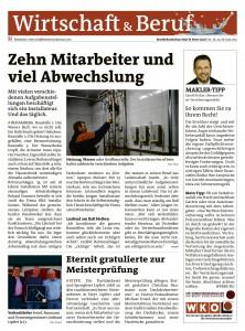 Karriere ohne Studium - Rundschau-Artikel