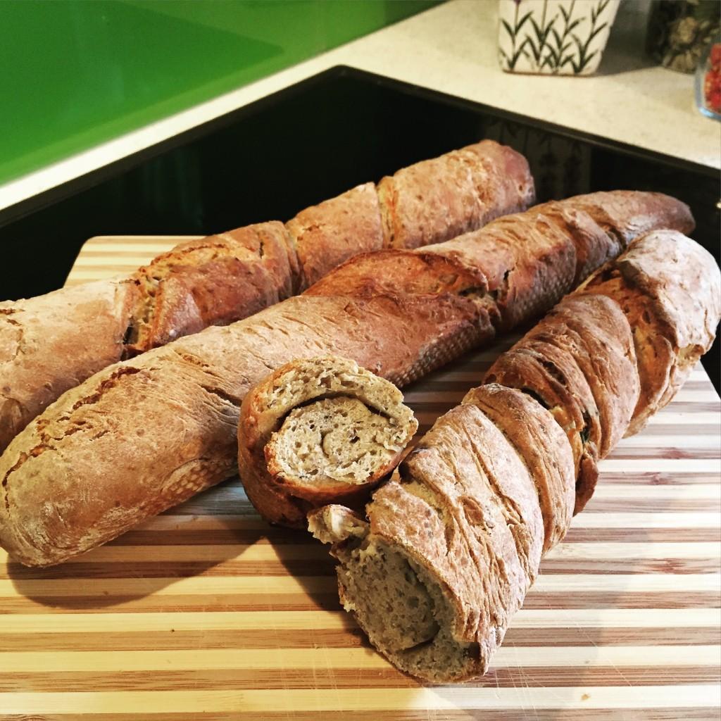 goodblog: Brot und Baguette selbstgemacht