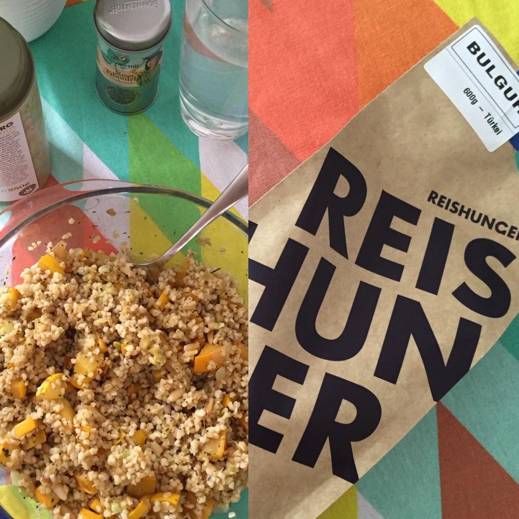 goodblog: Reishunger für den Bulgur-Salat