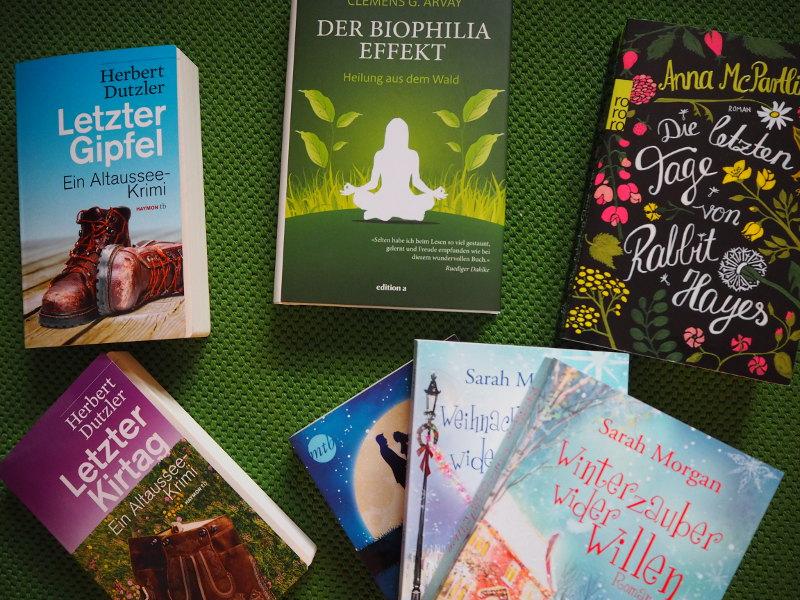 goodblog: Warum Lesen glücklich macht - Bücherauswahl