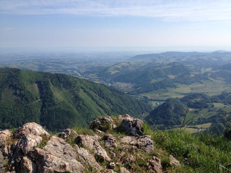goodblog - Mein Hausberg: Der Schoberstein - Aussicht