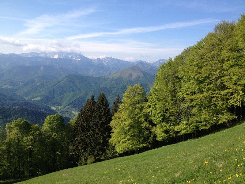 goodblog - Mein Hausberg: Der Schoberstein - Gebirge