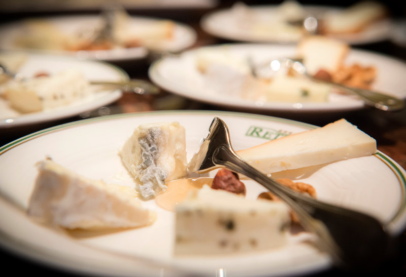 goodblog: Aufrettern - Käseverkostung
