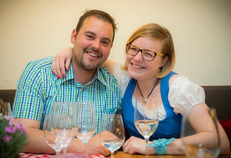 goodblog: Aufrettern - Lorenz und Carmen