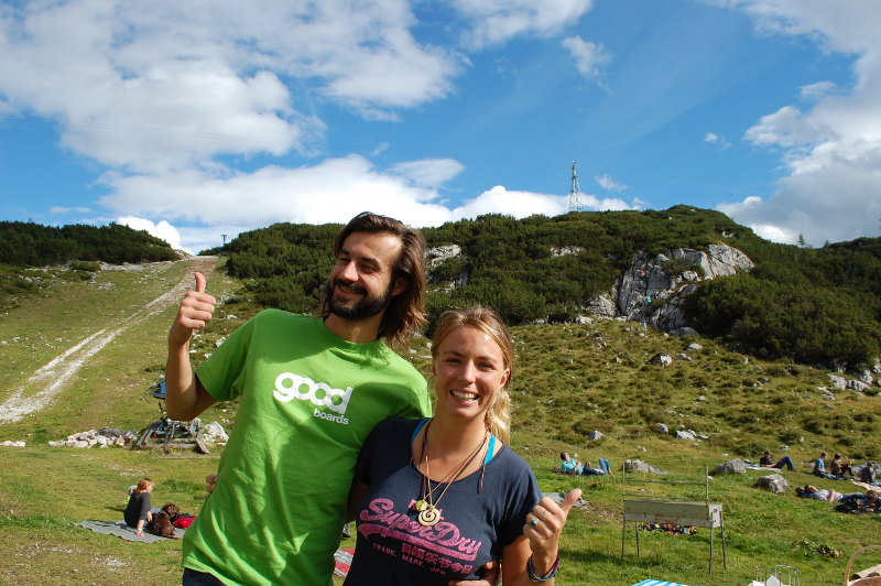 goodblog: Gjaidalm - Mikela und Patrick Endl