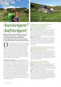 goodblog: Gjaidalm im Biomagazin - Aussteigen? Aufsteigen!