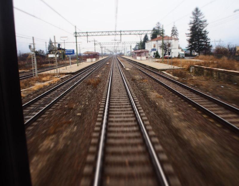 goodblog: Mailand per Zug - Aussicht aus dem fahrenden Büro