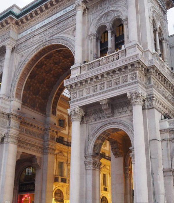goodblog: Mailand per Zug - italienische Architektur