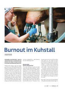 goodblog im Lebensart Magazin: Milchproduktion - Burnout im Kuhstall