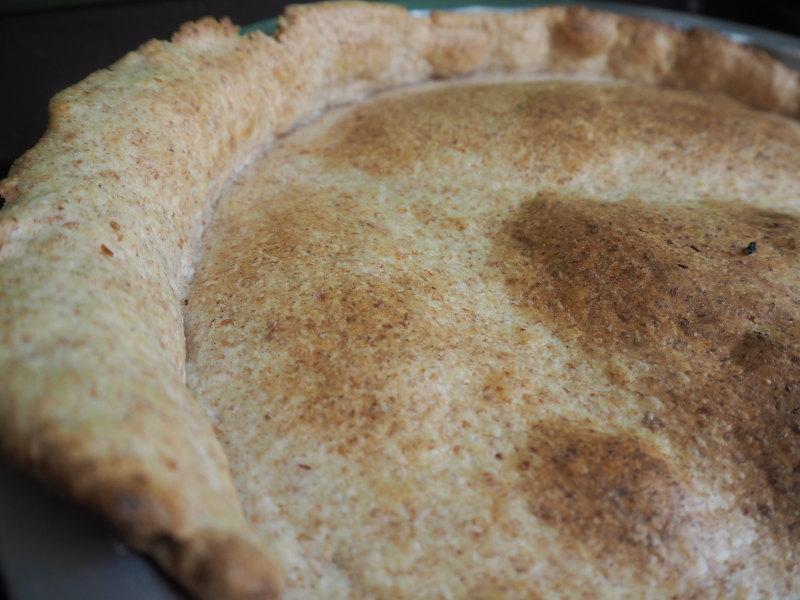 goodblog: Dreierlei vegetarische Quiche - Mürbteigboden
