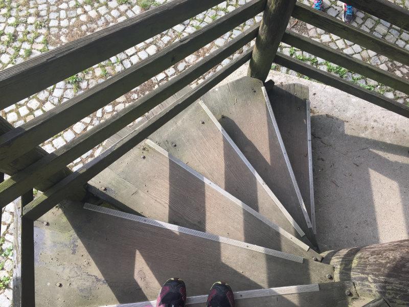 goodblog: Pilgern - Stufen zum Glück