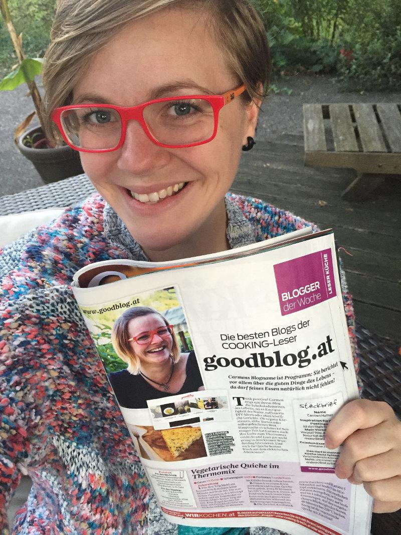 goodblog: Blog der Woche im Cooking Magazin