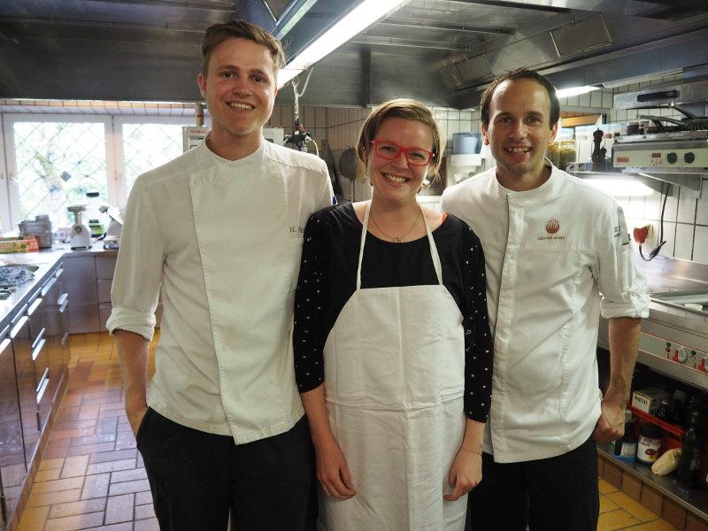 goodblog: wild werden bei den #kräuterbloggertagen- Heulandaise allein mit Stefan Lenz und Andi