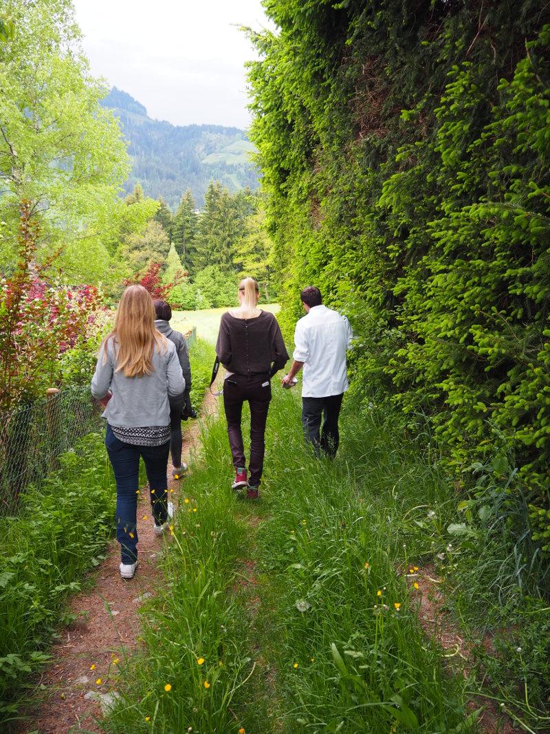 goodblog: wild werden bei den #kräuterbloggertagen - Heulandaise
