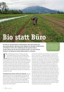 goodblog im Biomagazin - Bio statt Büro: Hüttschader Biogemüse