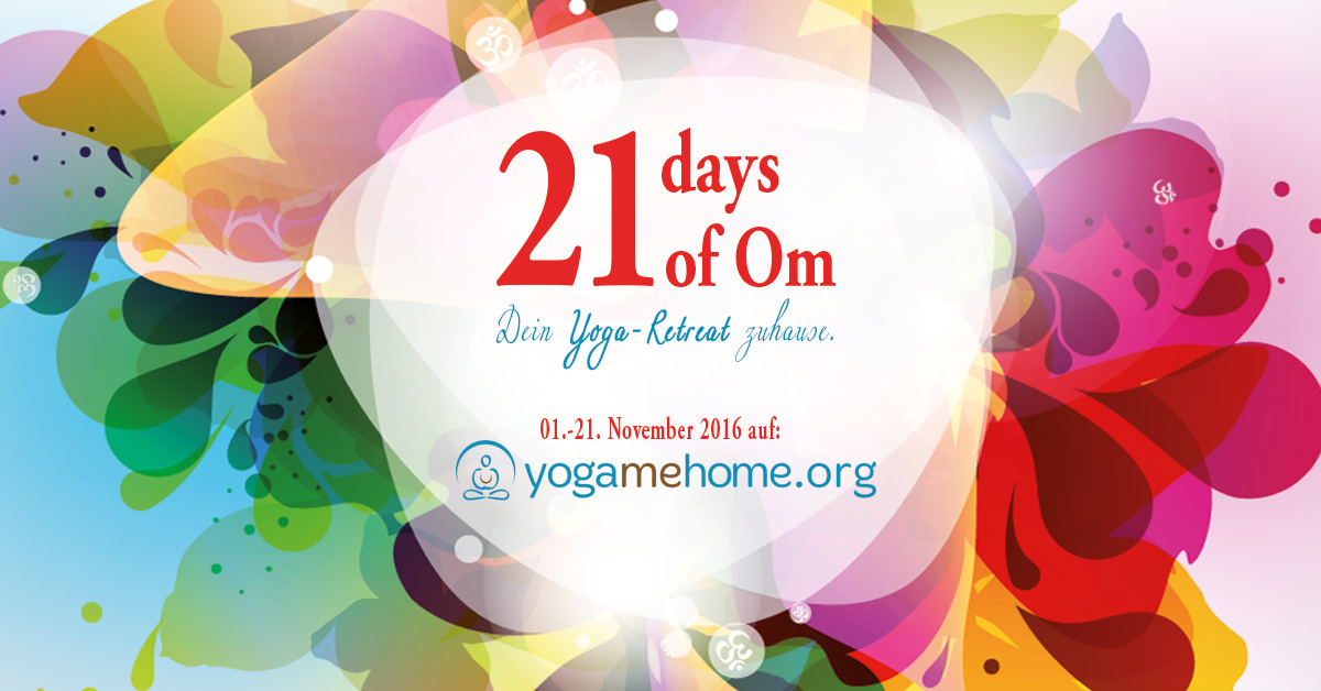 goodblog: Yoga zuhause mit yogamehome - 21 Days of Om