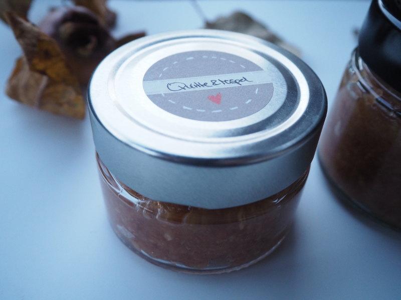 goodblog: Quitten und Mispeln - Mispel-Quittenmarmelade mit Vanille
