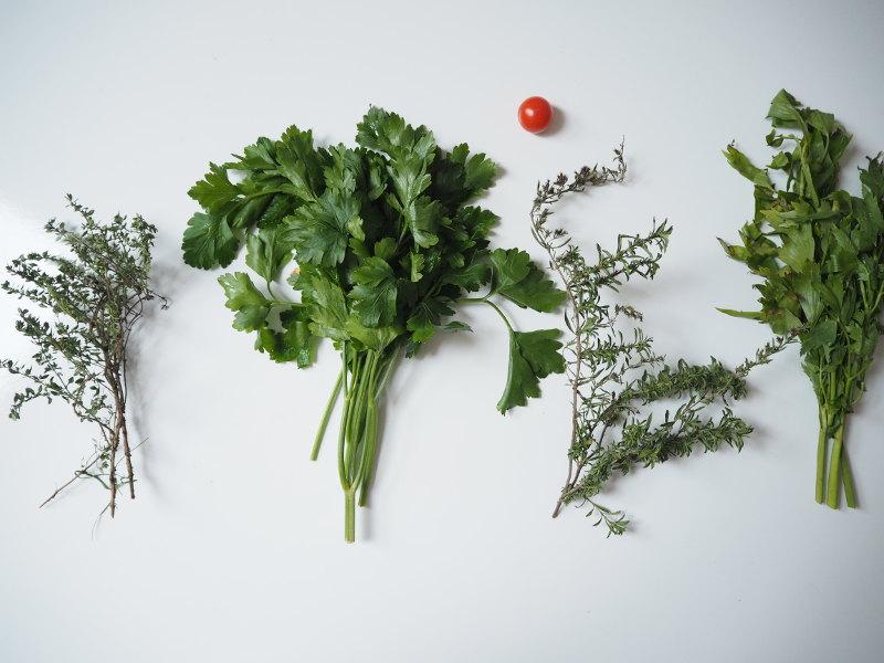 goodblog: Suppen-Gewürzpaste selbermachen - frische Kräuter