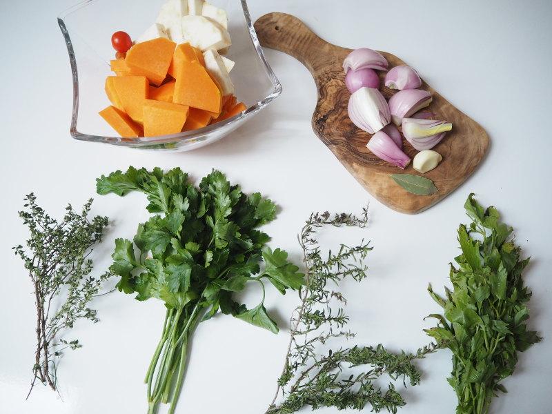 goodblog: Suppen-Gewürzpaste selbermachen - Zutaten