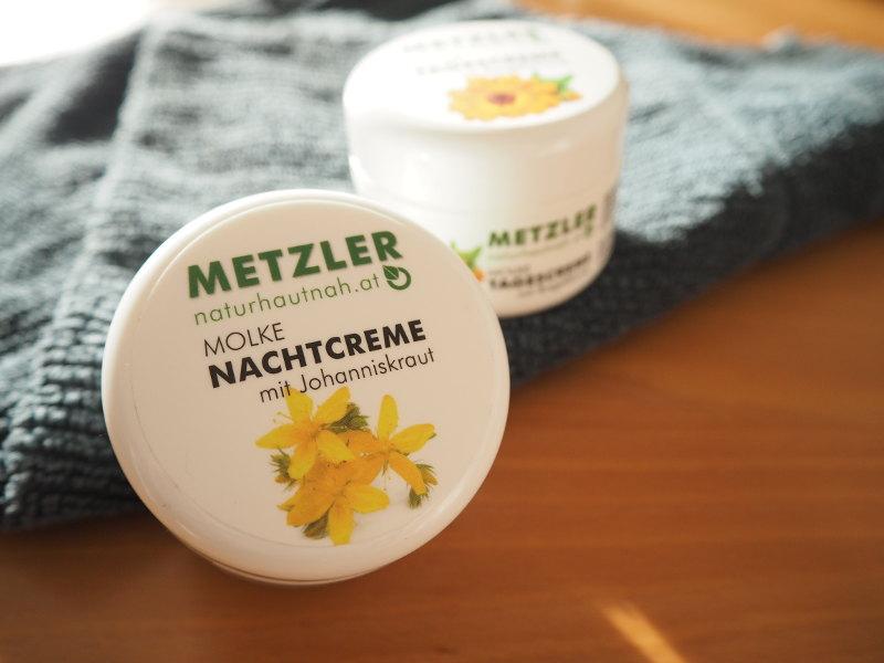 goodblog: Meine Naturkosmetik - Metzler Molkeprodukte Nachtcreme mit Johanniskraut