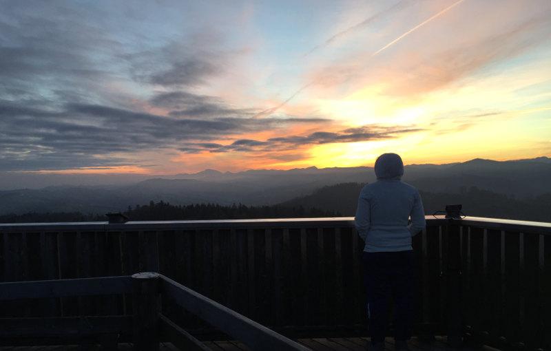 goodblog: Die schönsten Sonnenaufgänge - auf der Dambergwarte