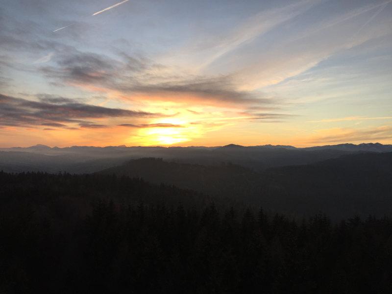 goodblog: Die schönsten Sonnenaufgänge - am Damberg