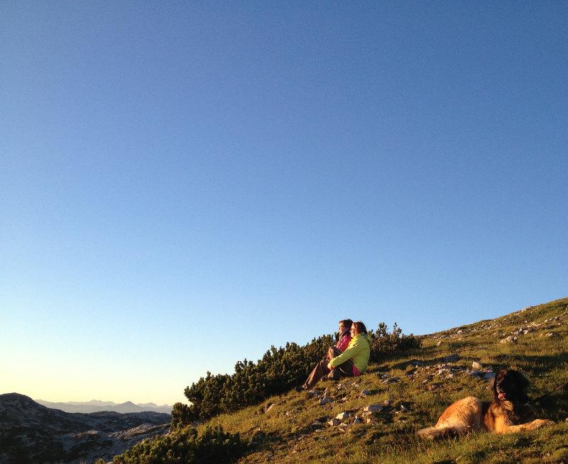 goodblog: Die schönsten Sonnenaufgänge - am Krippenstein mit Freunden