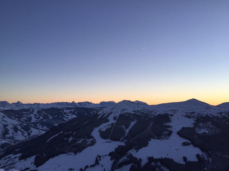 goodblog: Die schönsten Sonnenaufgänge - in Saalbach Hinterglemm auf der Piste