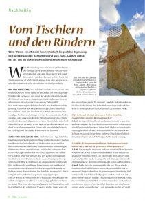 goodblog im Biomagazin: Jakobe Rind - Wagyu-Fleisch vom Kohlenerhof