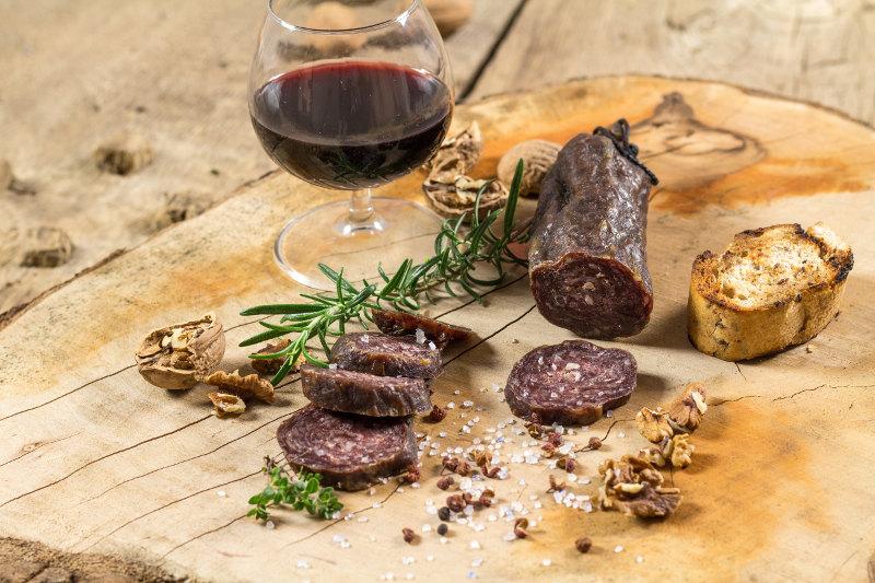 goodblog im Biomagazin: Jakobe Rind - Wagyu-Fleisch vom Kohlenerhof - Wagyu-Salami