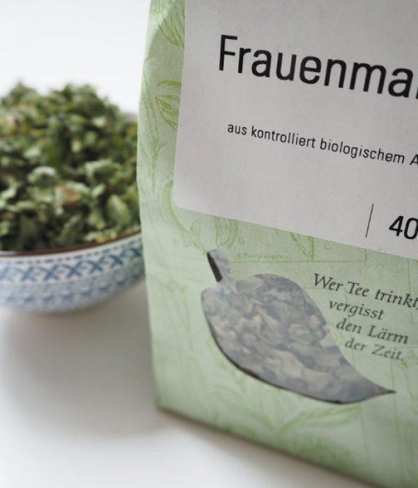 goodblog in der NEUEN Vorarlberger Tageszeitung: 9 natürliche Tricks gegen Regelschmerzen - getrockneter Schafgarben-Tee