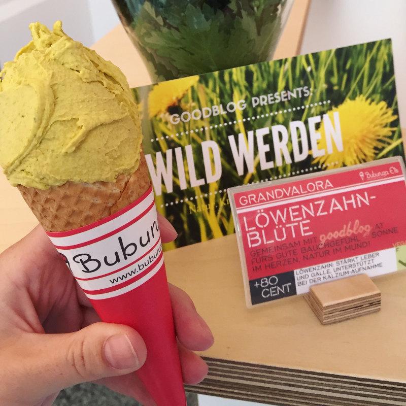 goodblog mit Buburuza Eis Steyr: Löwenzahn-Marmelade - Löwenzahn-Eis
