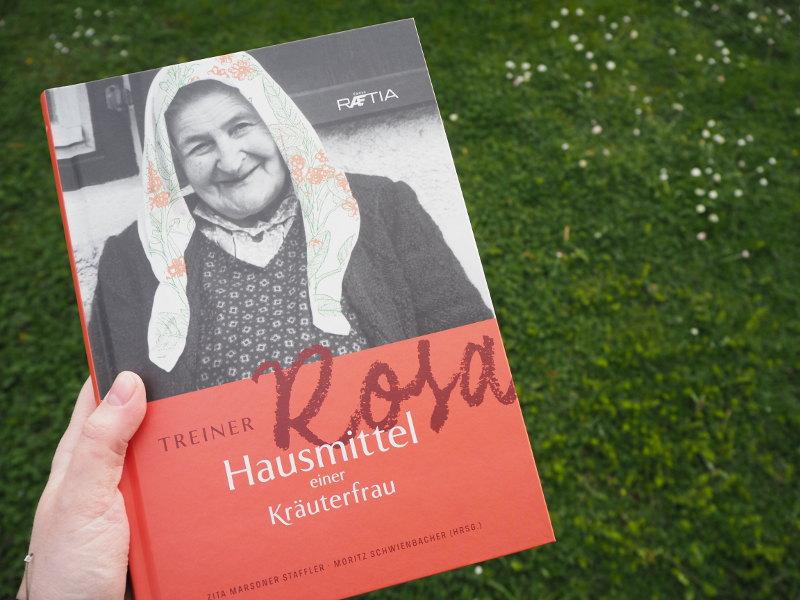 goodblog Gewinnspiel: Kräuterbücher als Nachschlagewerke - Treiner Rosa, Kräuterfrau