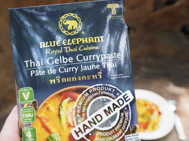 goodblog mit Blue Elephant: Kokos-Couscous mit Gelber Currypaste