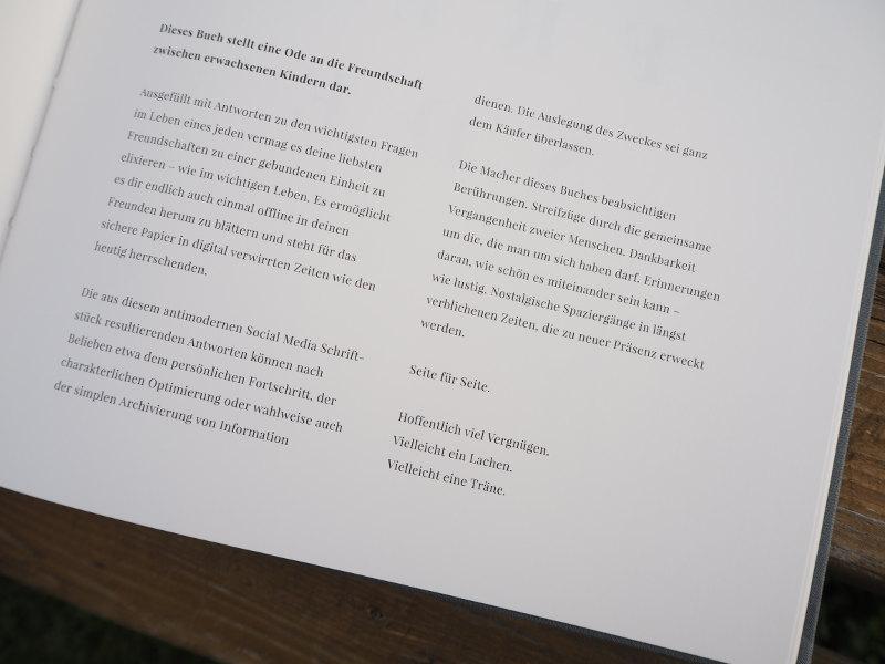 goodblog Gewinnspiel: Buch der Freunde