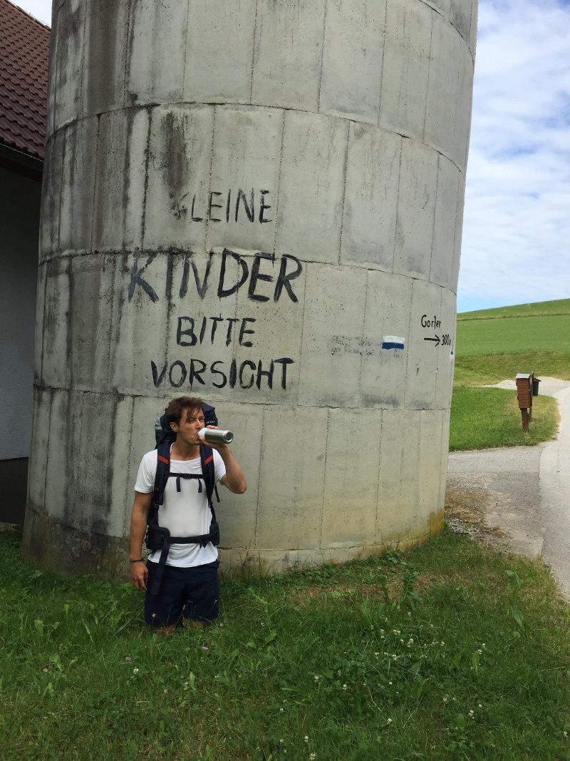 goodblog: Ernst pilgert - Warum?