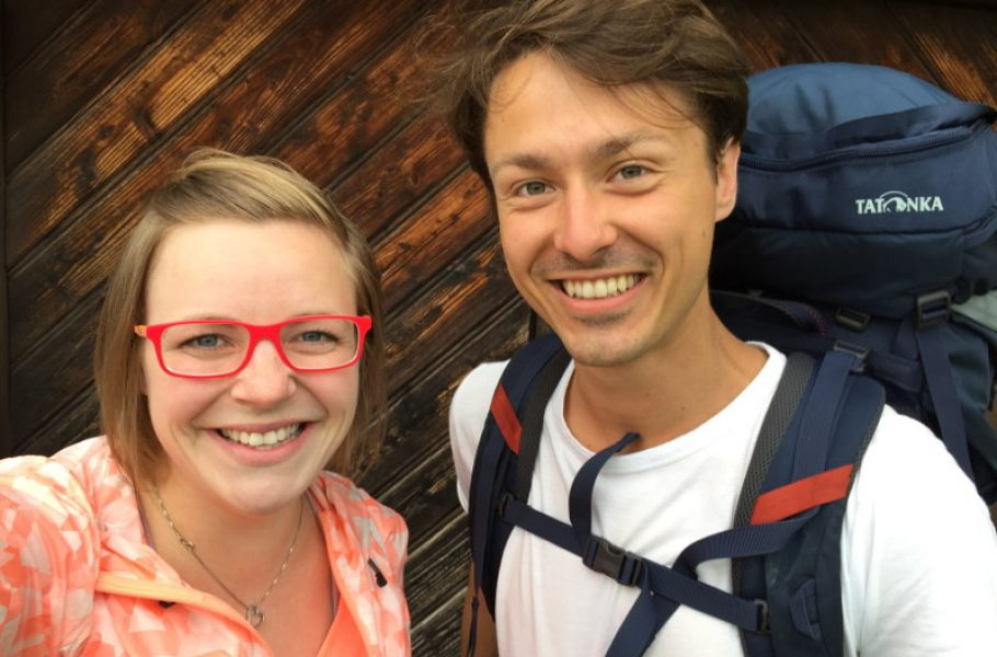 goodblog: Ernst pilgert - mit Carmen