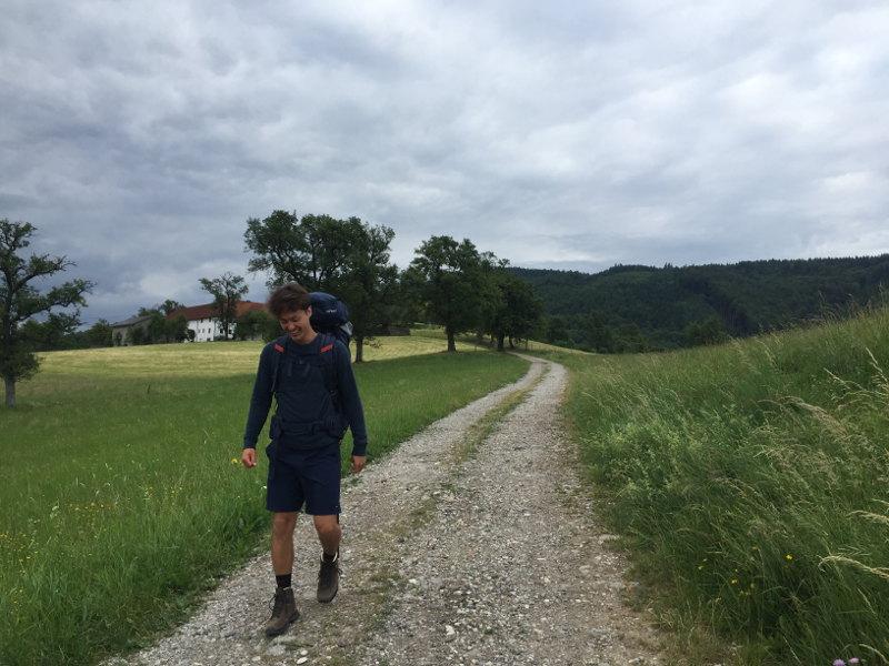 goodblog: Ernst pilgert - am Damberg