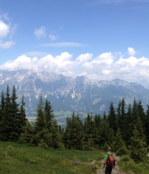 goodblog für die Saalbach Stories: Wandern ist gesund