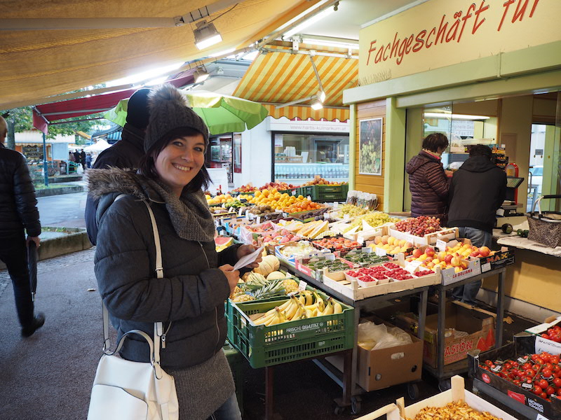goodblog für visitlinz: Linzer Südbahnhofmarkt - Julia vom Visionsgarten