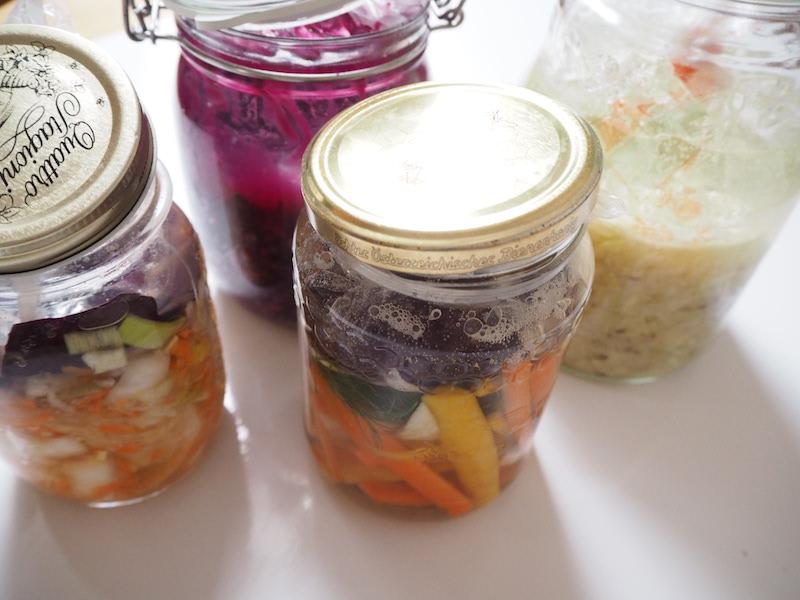 goodblog in der NEUEN Vorarlberger Tageszeitung: fermentiertes Gemüse - Tag 2