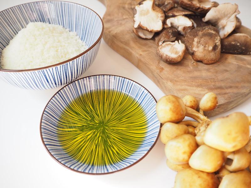 goodblog: Olivenöl zum Pilzrisotto