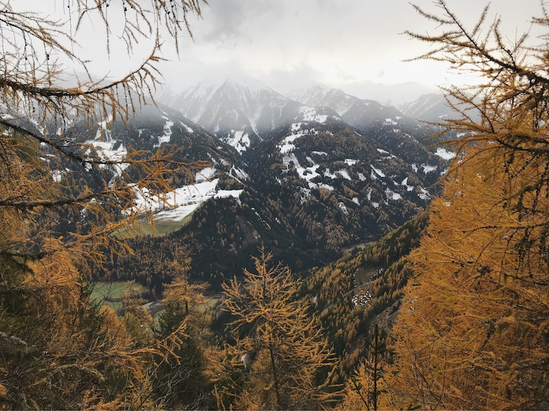goodblog in Osttirol: Kräuterwirtshaus Strumerhof - Ausblick