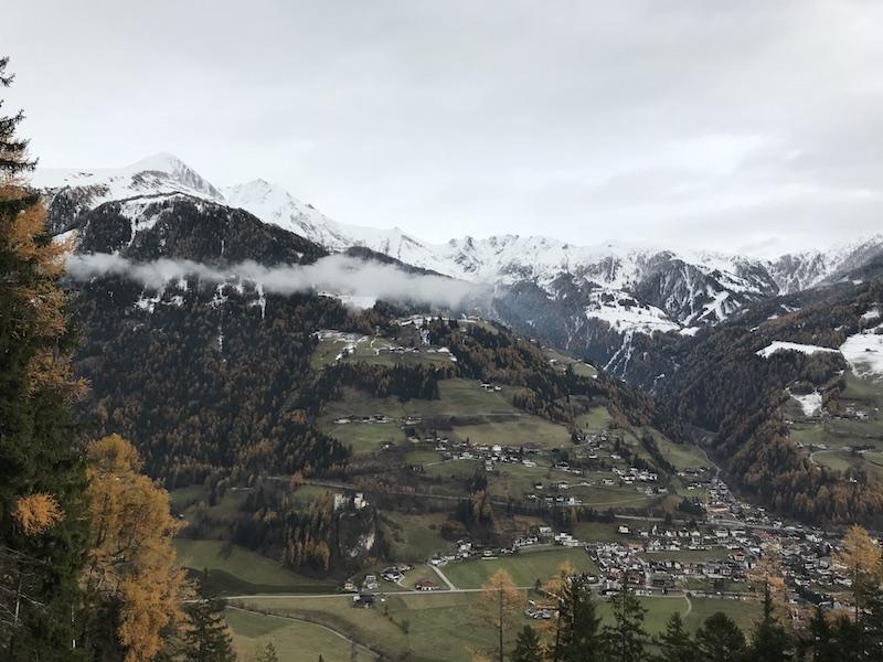 goodblog in Osttirol: Kräuterwirtshaus Strumerhof - Ausblick Thiemeweg