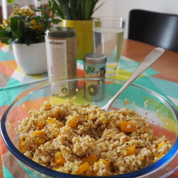 goodblog: Bulgur-Salat