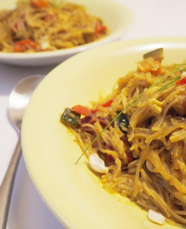 goodblog: One-Pot Reisnudel-Curry