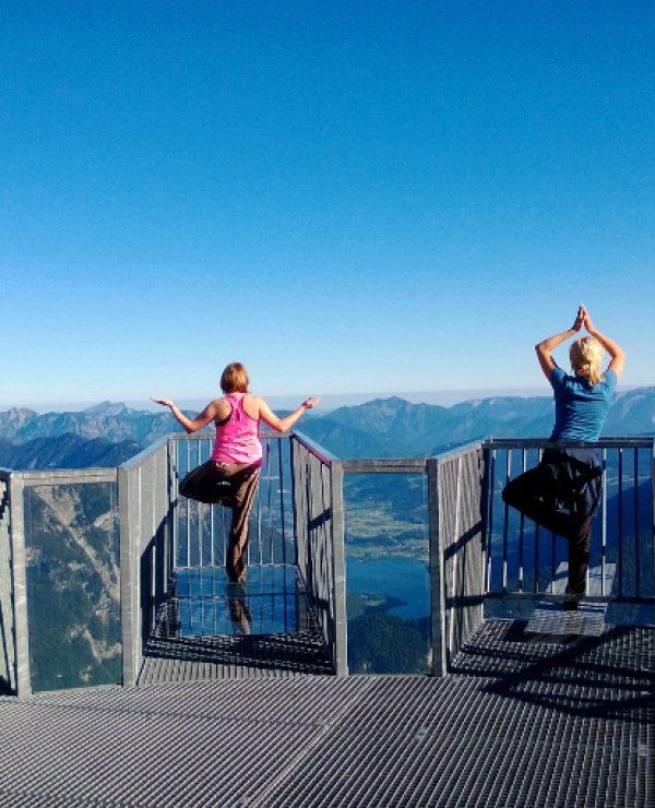 goodblog: Yoga zuhause - oder am Krippenstein