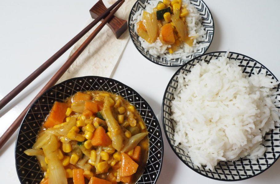 goodblog: Thai Curry mit Süßkartoffeln