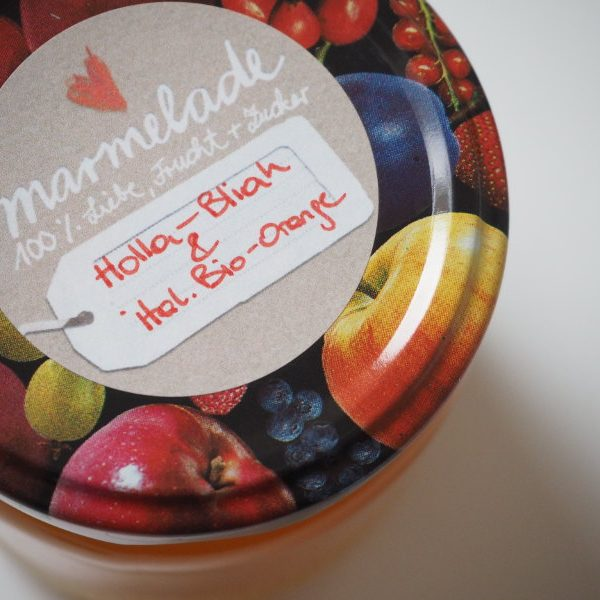 goodblog in der NEUEN Vorarlberger Tageszeitung: Holunderblütengelee mit Orangen